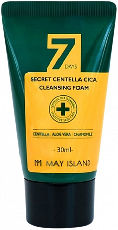 May Island~Очищающая пенка для проблемной кожи с центеллой~Secret Centella Cica Cleansing Foam